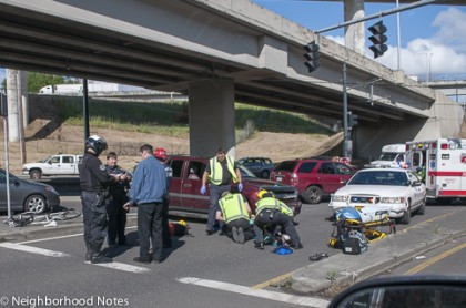 Curtis Crothers crash aftermath