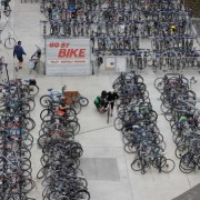 Business booms for bike valet in South Waterfront
