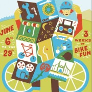 First look at the 2013 Pedalpalooza poster