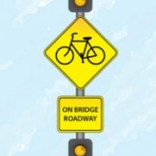 ODOT proposes first-ever flashing 'Bikes on Bridge' sign for Barbur Blvd
