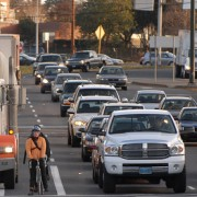 Are 'bikes-vs-trucks' battles fading? Advocates say so
