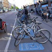 'Flex parking' gives space to bikes and cars