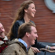Cycling is social in Amsterdam