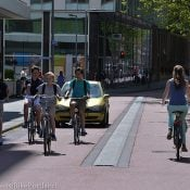 In Rotterdam, a peek at Dutch road design in an American-style city