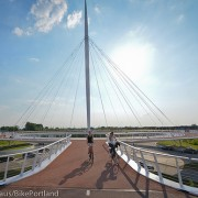 The Hovenring and Rijksmuseum path: Two wonders of the bicycle world