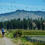 Exploring the 'Oregon Outback' by bike