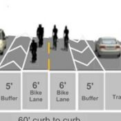 New idea for Foster Road: A center median bike lane