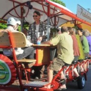 Portland's pedal-powered pub crawls are becoming big business