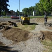 Bike skills park takes shape in New Columbia