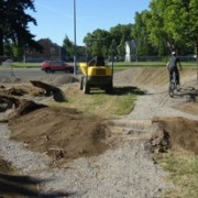 Bike skills park takes shape in New Columbia