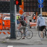"City ""agonized"" over three-day Broadway Bridge bicycle detour"