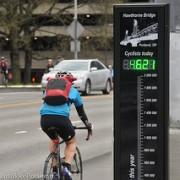 City will celebrate one year, one million bike trips over Hawthorne Bridge