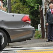 Mayor Hales is rolling up his sleeves on road safety