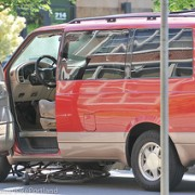 Man cited for unlawful turn in harrowing North Portland collision