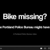 PPB steps up bike theft awareness with new video