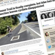 Why bicycling isn't allowed on a new off-street path in Clackamas County