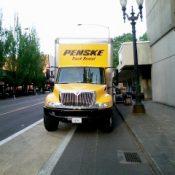Doubletree Hotel dumps vendor whose truck blocked bike lane
