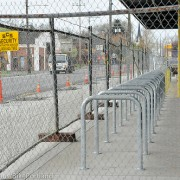 Williams Avenue New Seasons moves staples to improve bike parking