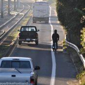 Bikeways at overpasses: Utrecht vs. Portland