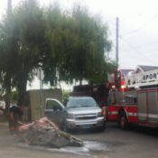 Opening day fire causes serious damage at the Bike Farm