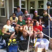 Bikes help power non-profit's fruit tree harvest