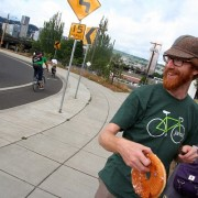 With shouts and smiles, Breakfast on the Bridges expands to the Burnside