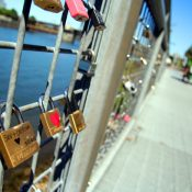 Have you seen this? Padlock placemaking on the Esplanade