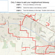 Washington County seeks input on 'Neighborhood bikeway' routes