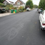 'Fog seal' treatment has covered up about 100 sharrows; but they'll return