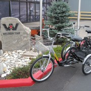 Portland truck factory replaces electric carts with pedal-powered trikes