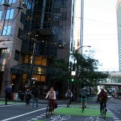 A preview of Portland? Vancouver BC's new downtown bike network (photos)