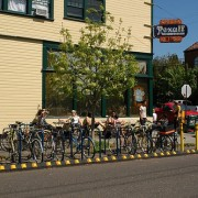 PBOT reaches 100th bike corral milestone