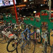 Renovation at Powell's Books leads to uncertain future for iconic bike racks