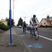 As low-car lifestyle spreads, residents praise new bike lanes on SE Division
