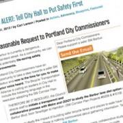 BTA urges Portland city council to study traffic impacts of Barbur Blvd road diet