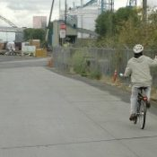 New route through rail yard could link up North Portland Greenway