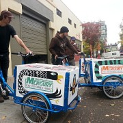 From trucks to trikes: Portland Mercury now delivered with pedal power