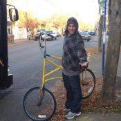Community hunts for tall bike stolen from story-telling clown