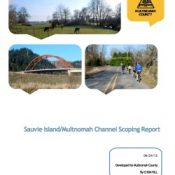 Bicycling, road safety will play big role in Sauvie Island transportation plan update