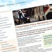 Metro seeks applicants for influential transportation committee