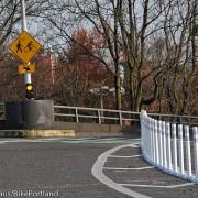 Collision raises questions about changes on Hawthorne Bridge
