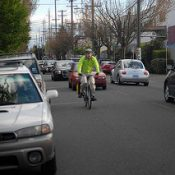 City reveals early options, sets stage for '20's Bikeway' project