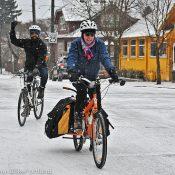 Snowy cycling in Portland! (photos)