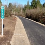 Springwater now paved — and open — from Portland to Boring