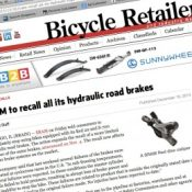 Bend cyclocross race leads to global bicycle brake recall