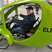 Report and photos from test ride of Organic Transit's ELF trike
