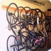 Short on storage space? Portlander builds her own bike hooks