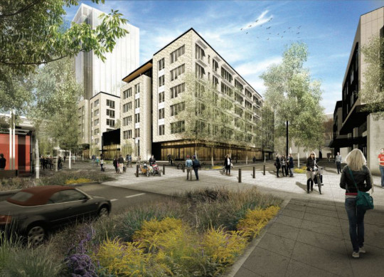 Portland Project Gets 1 200 Bike Parking Spaces Most In N