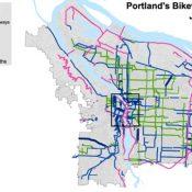 Gaps abound in Portland's bike network