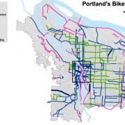 Gaps abound in Portland's 'low-stress' bike network